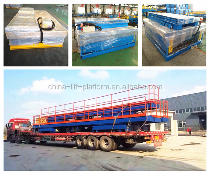 High quality !! in ground installation China Scissor Car Lift for sale