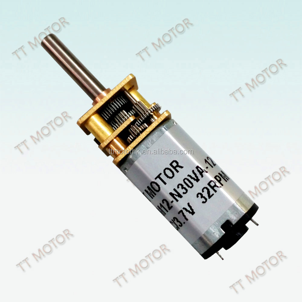 12mm dc mini gear motor for currency detector