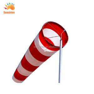 Popular Custom High Quality Colorful Outdoor 100%Polyester Windsocks