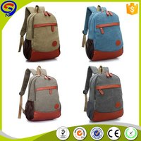 New product trade assurance oem children school canvas backpack