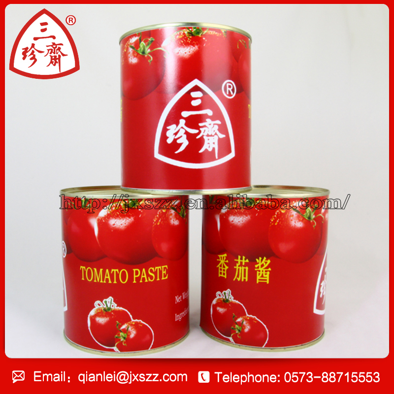 2016 factory supply Canned best price of canned tomato paste