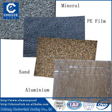 APP modified bitumen waterproof rubber sheet membrane for foof