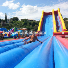 2017 Best quality top popular giant inflatable water slide for adult