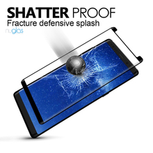 factory price nuglas 9h hardness anti-scratch case friendly for samsung galaxy note 8 tempered glass screen protector