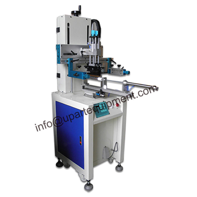 single color design uv ink cup screen printing machine