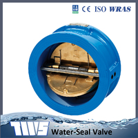 ANSI150 6 Inch CI Wafer Dual Plate Butterfly Check Valve