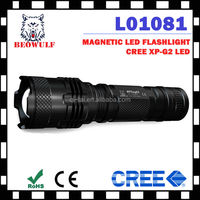 mini zoomable led rechargeable led torch flashlight maglite
