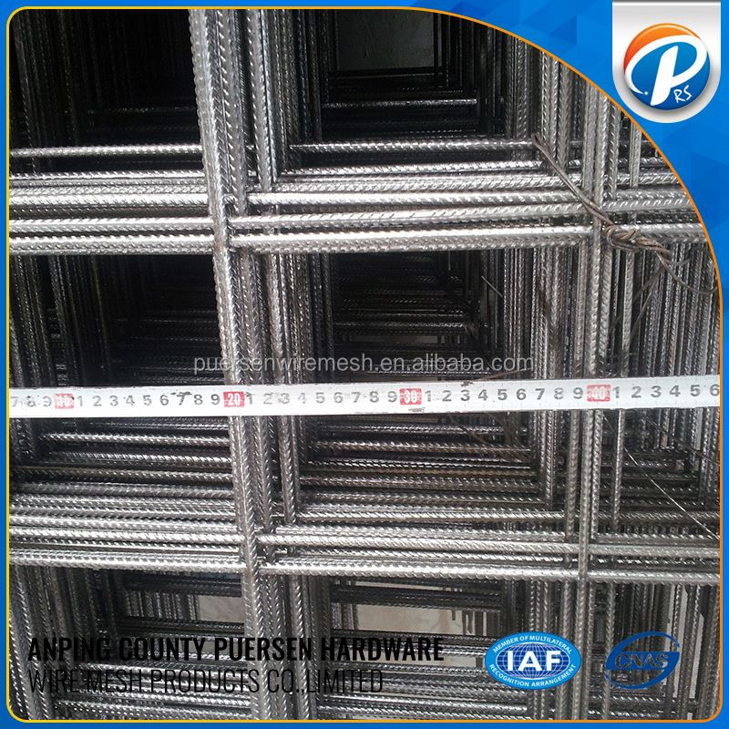 Anping high standard 40x40mm reinforcing welded wire mesh