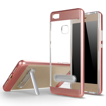 Hot Selling TPU PC Frame Hybrid Phone Case for Huawei P9 Lite,P9 Lite Case Cover