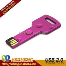 Waterproof Metal Key 128GB USB Flash Pen Drive