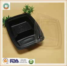 Disposable plastic fast food packing boxes to takeaway SGS/FDA Approval