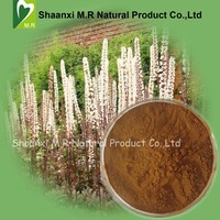 Factory Supply Bulk Black Cohosh Extract Triterpenoid Saponins 2.5%, 5% Powder