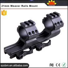 2015 New Aluminum Wholesale gun accessories LD 3003 Long Type 2*25/30mm Quick Release Hunting Lights 21mm Weaver Rails Mount