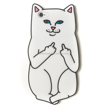 Funny Cartoon Cat Silicon Case for iPhone 6 6S