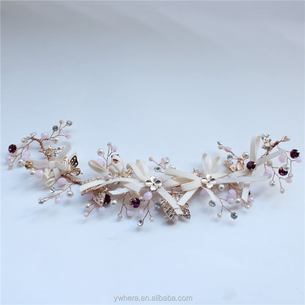 New fashion crazy jewelry bridal wedding headband for headwear