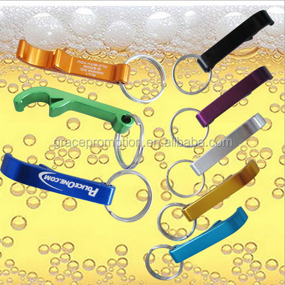 Aluminum bridge shaped Bottle Opener Key Ring