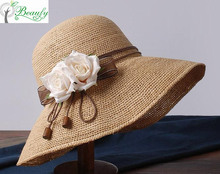 Beautiful Women Straw Hats Cheap Wholesale