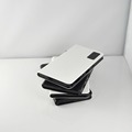 Hot wholesales imitation leather HY630 5V 2A input 5V 1A 5V 2A output power bank 1000mAh