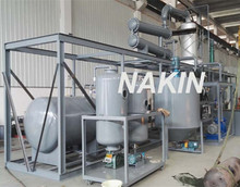 JZC vacuum motor oil distillation plant/crude oil refined to diesel oil