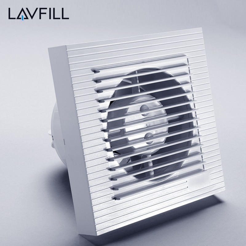 Glass Window Exhaust Fan Air Extractor For Bathroom Wall Mounted