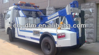 Dongfeng road wrecker truck, towing truck