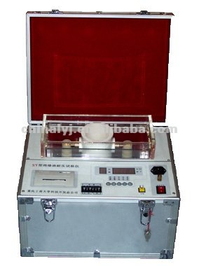 Model SY fully automatic transformer oil testing equipment