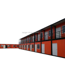 Modular cheap container house 20ft prefab dormitory