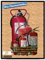 Dry chemical Fire Extinguisher refilling