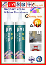 quick dry mouldproof sanitary grade silicone sealant neutral gum tube bathroom and kitchen