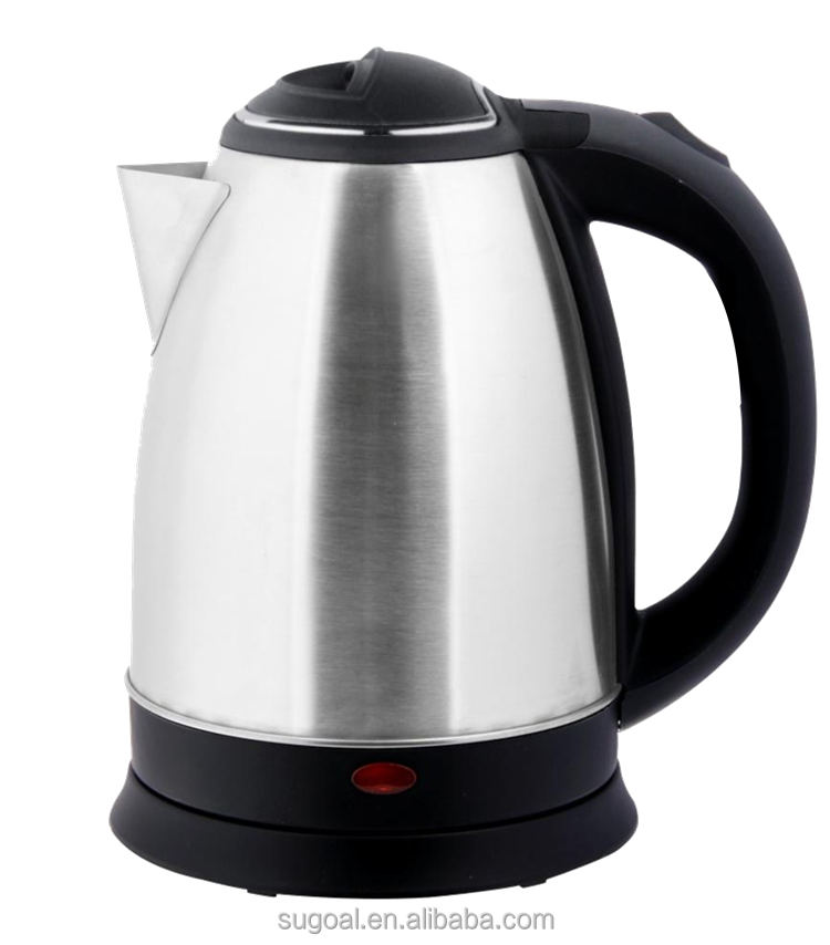 1.8L Stainless Steel ss Cordless Electric Water Kettle,360 Degree Rotation