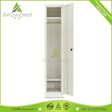 CE certified powder coating steel single door locker cabinet