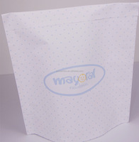 Hot sale simple white kraft paper bags with self adhesive sealing in USA style