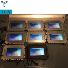 2018 13 inch Industrial No Frame High Brightness Wifi Open Frame LCD Monitor