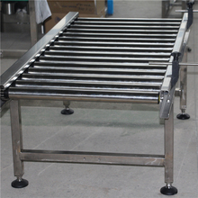 Packing Storing Sorting Chain Curved Roller Conveyor