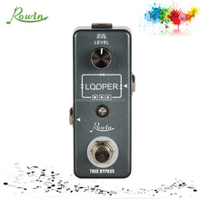 hot new products for 2017 Rowinmusic LEF-332 guitar looper effect pedals/looper pedals made in China