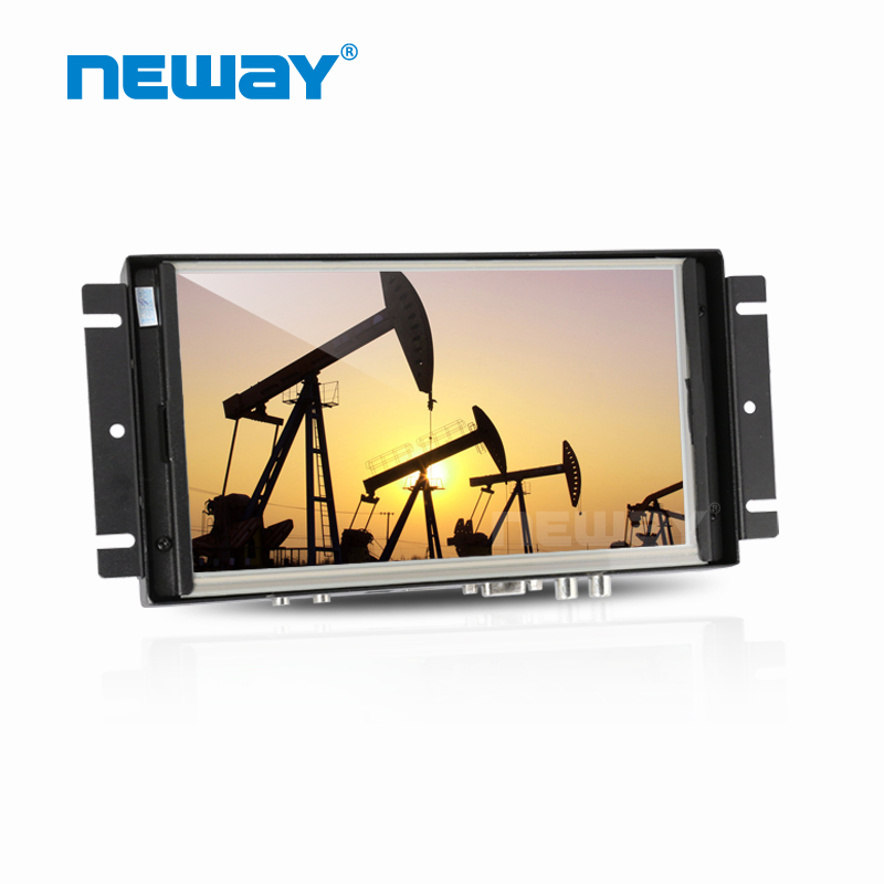 Wall Mount 8 Inch LCD Display Touch Screen Monitor Open Frame