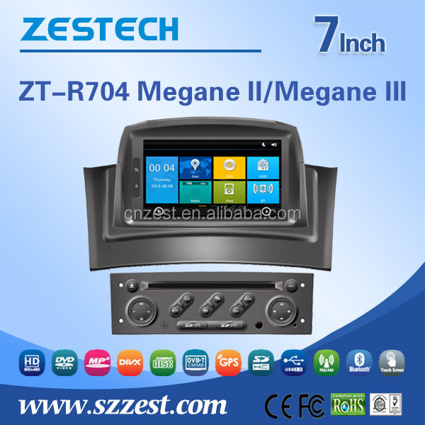 made in china car dvd player For Renault Megane II Megane III made in china car dvd player gps navigation system