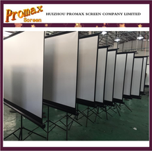 Out door advertising of tripod projection screen