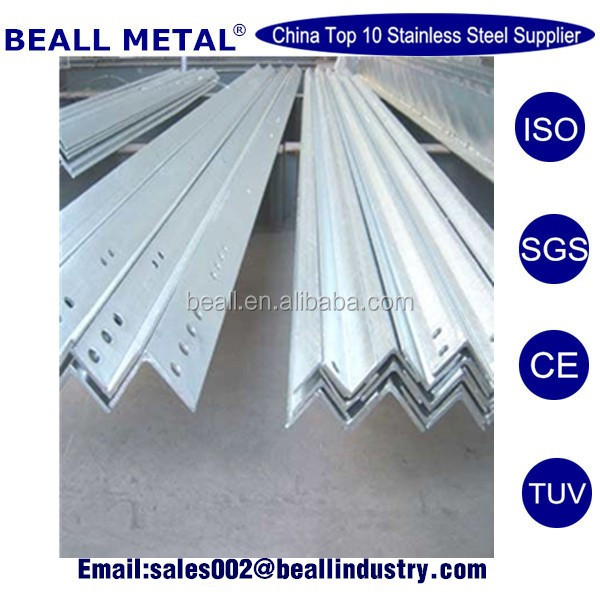 Equal hastelloy c276 plate stainless steel angle bar