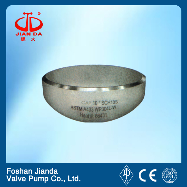 A234 wpb round pipe end cap JIS