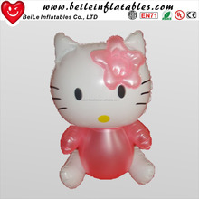 Factory Hot Sale Cheap Inflatable Hello Kitty and Giant Inflatable Cartoon Character