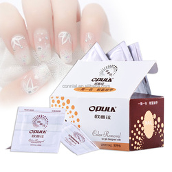 Good quality supply with compettive price Nail polish Remover wet wipes