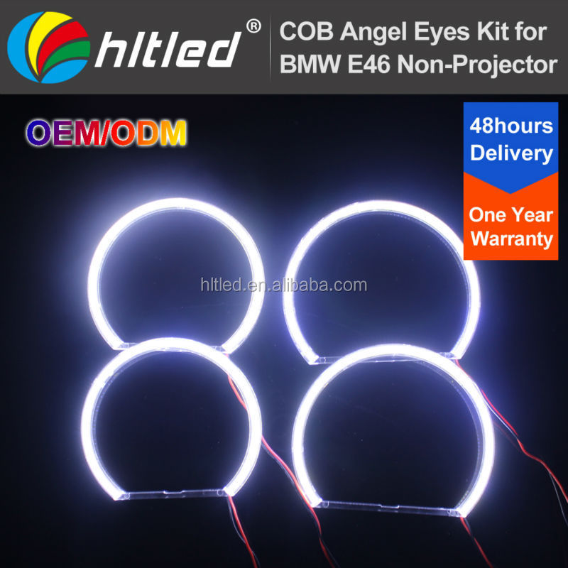 Hottest China supplier of cob ring led light with dimmer for E36 E38 E39 E46