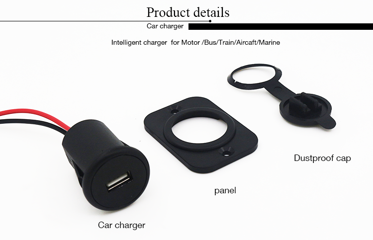 YMM factory Marine bus car 4.2A QC 2.0 single usb charger