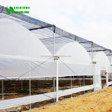 Low Cost Polytunnel 200 Micron UV Resistant Plastic Film Greenhouse