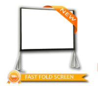 Fast Fold Projector Screen / Rear Projection Screen