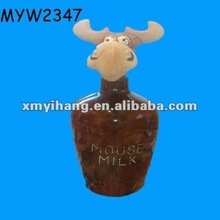 Ox wholesale ceramic antique liquor bottles