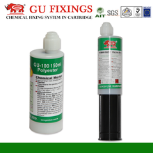 Manufacturing chemical resin single component glue polyester thread screw thread