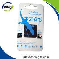 Eco-Friendly Personal Design Adhesive Microfiber Screen Cleaner