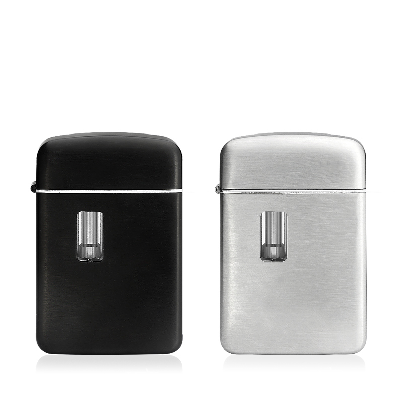 Cool Zippo Style all in one kit Ezipe Kit by Fumytech stainless steel Black & Brush Steel OEM Available